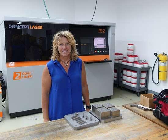 Heidi Hostetter of Faustson Tool