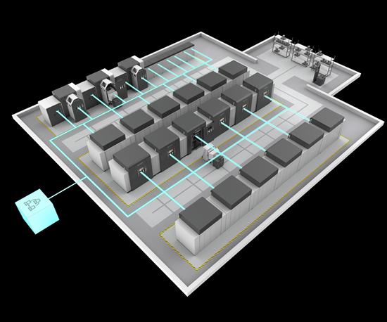 3D Systems DMP8500 Factory Floor