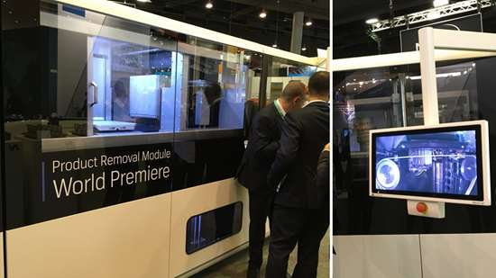 Additive Industries product removal module shown at Formnext
