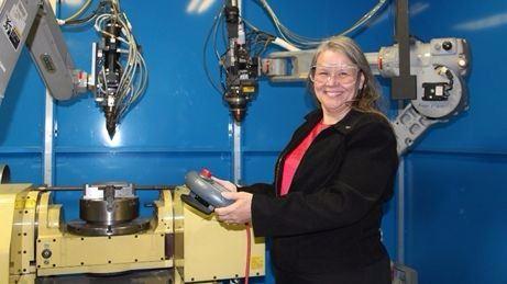 NASA Langley Research Center Materials Research Engineer Karen Taminger, Ph.D.