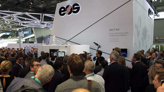 EOS booth at Formnext 2017