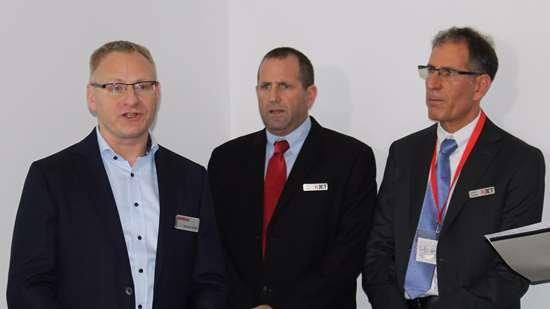 XJet's CEO Hanan Gothait (right) and CBO Dror Danai