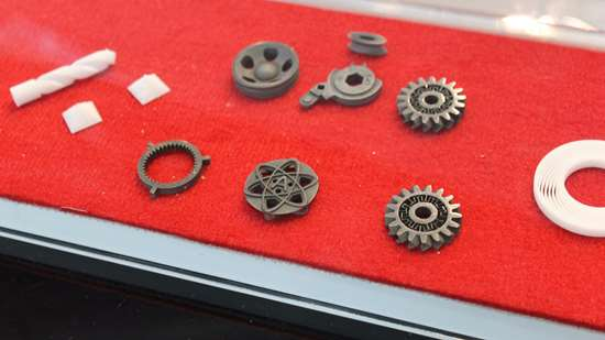 3D-printed parts made with XJet NanoParticle Jetting (NPJ)