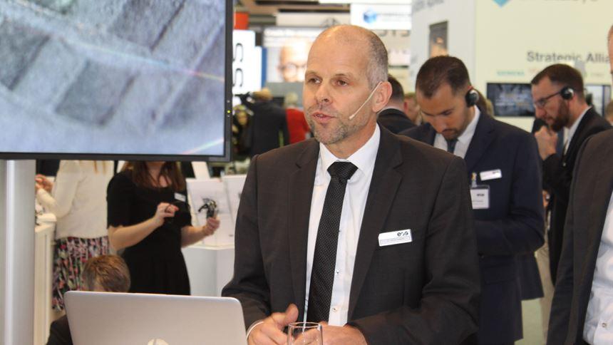 EOS CEO Dr. Adrian Keppler