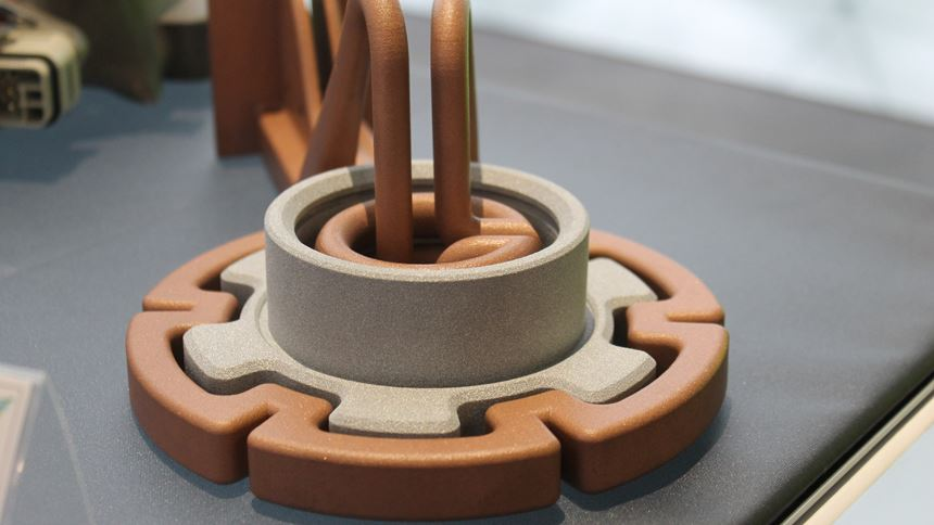 Protiq selective laser melted copper