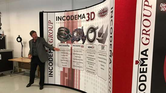 Sean Whittaker, founder and CEO of Incodema3D