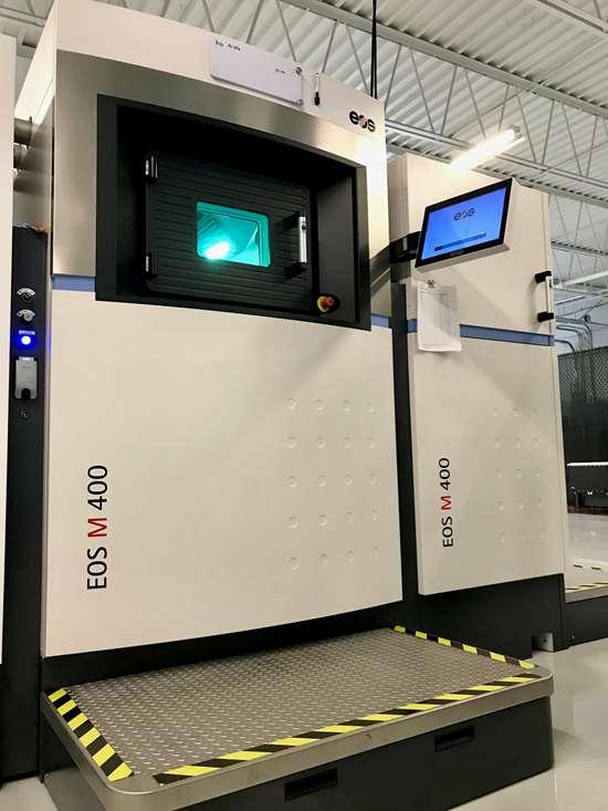 EOS M400 machine