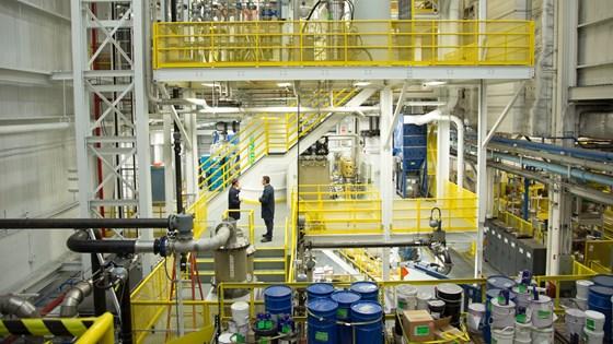 Titanium powder factory