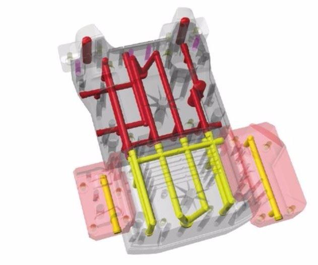 Original K2 mold design