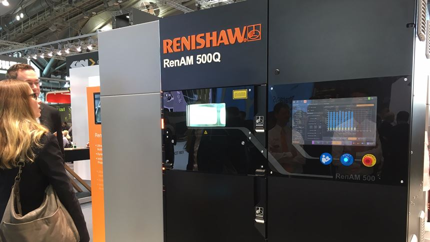 Renishaw four-laser machine as seen at Formnext