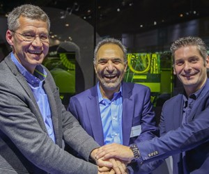 Laurent D'Alvise, Mohammad Ehteshami and Michel Delanaye