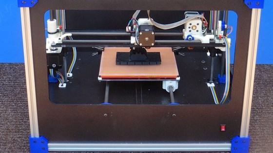 Avante Fabricatus 3D printer making a mold