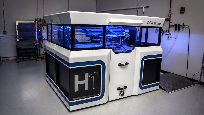 GE Project H1 binder jet