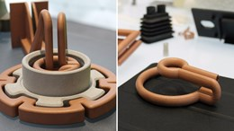 Additively manufactured induction coils