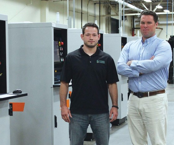 Chris Collins, COO, and Adam Clark, CEO, Tangible Solutions