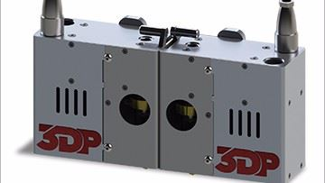 3D Platform HFE300 high-flow extruder
