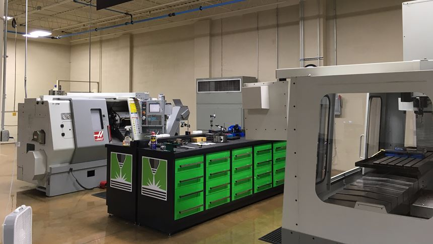 postprocessing machining capability at BeAM