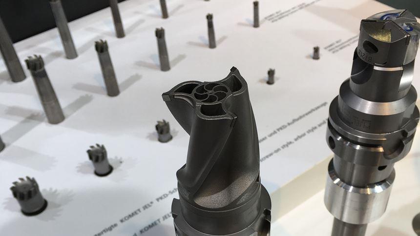 Komet 3D printed milling tool and drilling tool