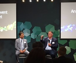 Punit Renjen, global CEO, Deloitte, and Dion Weisler, president and CEO, HP Inc.