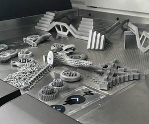 HP Multi Jet Fusion sample parts