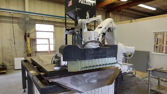 Robotic sand printer