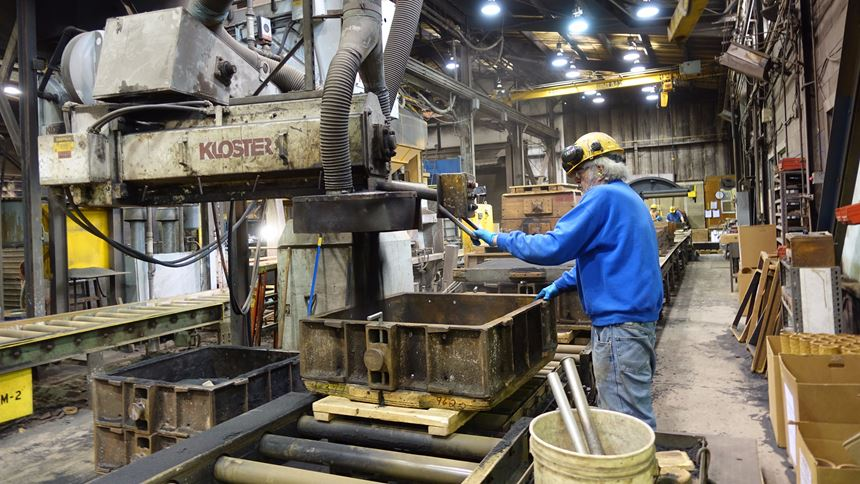 Conventional mold production