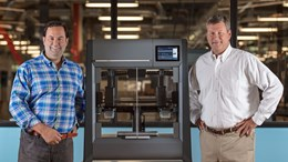 Ric Fulop, CEO and co-founder of Desktop Metal and Brad Morris, President and CEO of Morris Group, Inc.
