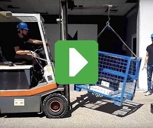 Roboze 3D-printed hook lifting 370 pounds