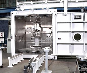 Sciaky 110 electron beam additive manufacturing (EBAM) system