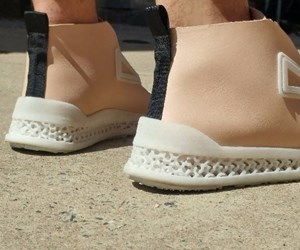 Footprint 3D shoes featuring lattice-based 3D-printed soles