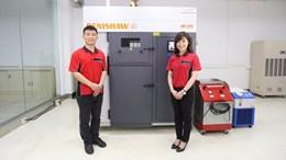 Renishaw AM 250 direct metal laser melting (DMLM) machine at Star Rapid