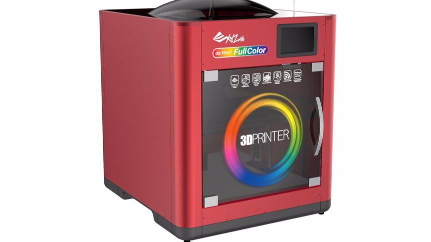 XYZprinting's da Vinci full-color 3D printer