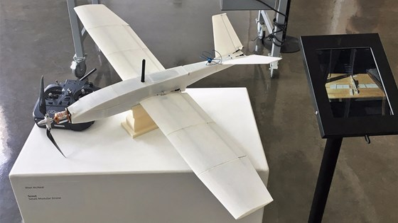 The 3D-printed Scout drone