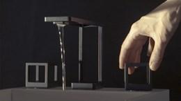 Grid 3D-printed faucet