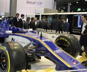 Sauber Motorsports display at Formnext 2017