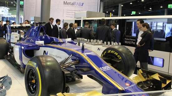 Sauber Motorsports display at Formnext 2017