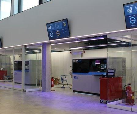 Customer Experience Center machines