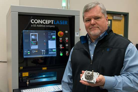Auburn engineering professor for Additive Manufacturing Magazine