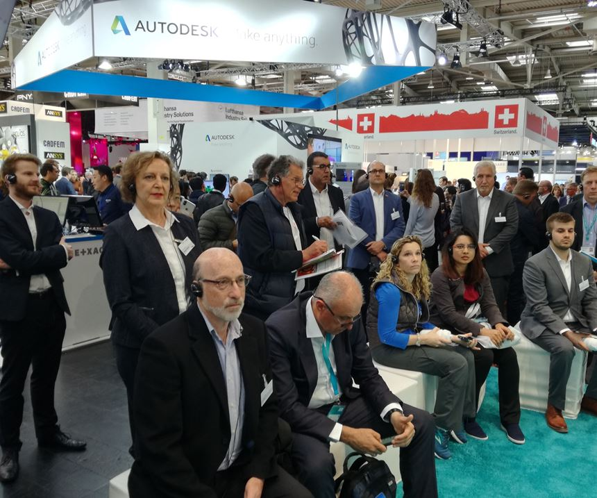 Siemens PLM Additive Manufacturing Tour at Hanover Fair Germany