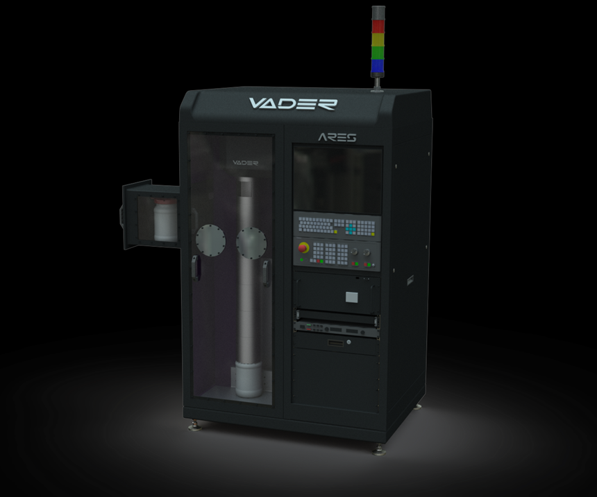 Vader Ares Microsphere Production System