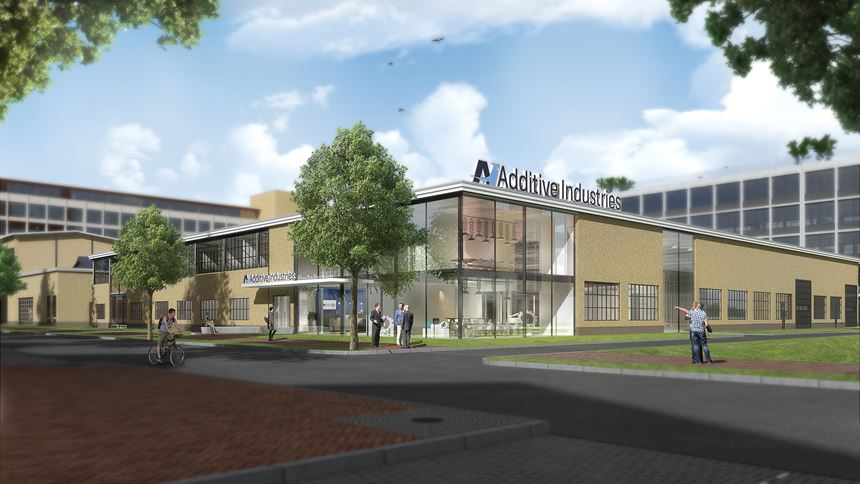 Rendering of Additive Industries' new headquarters
