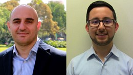 Emrah Celik, Ph.D., and Daniel Delgado Camacho