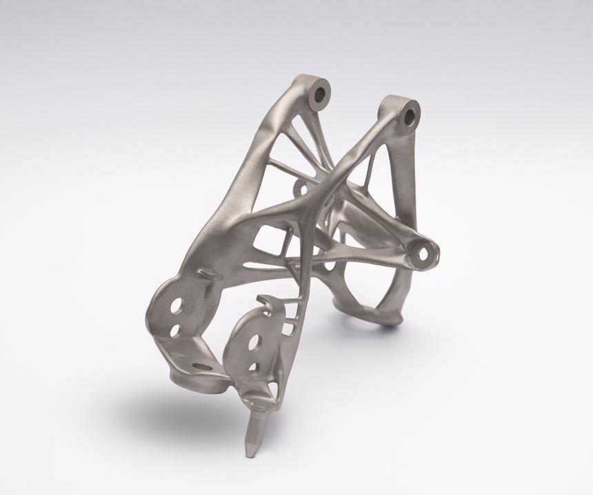GM and Autodesk seat bracket
