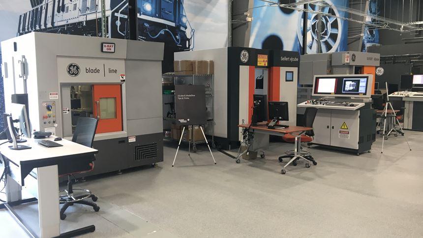 x-ray equipment at the Cincinnati CSC