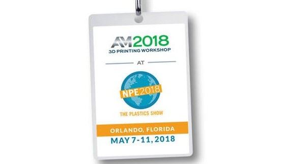 AM 2018 3D Printing Workshop at NPE2018
