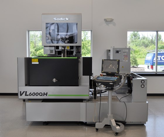 VL600QH Wire EDM for Additive Manufacturing Magazine