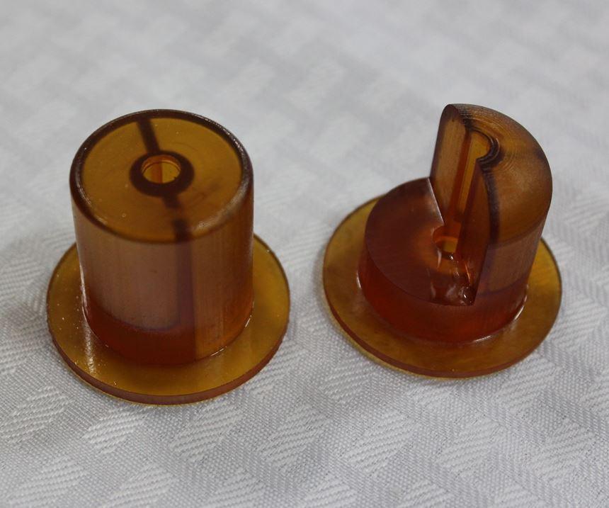 3D-printed valves made with CLIP