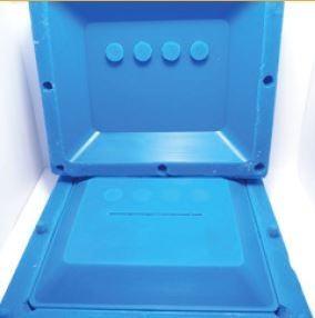 master tool for silicone casting of Aquafarm Water Sensor System