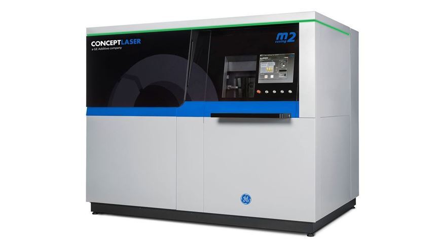 Concept Laser M2 Cusing from GE Additive
