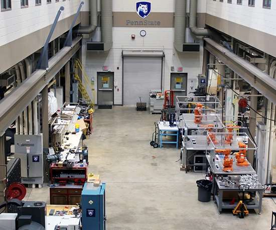 Factory for Advanced Manufacturing Education (FAME) Lab